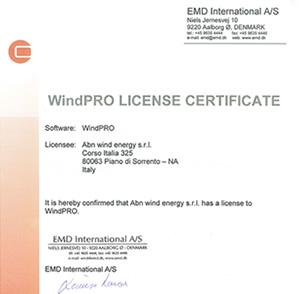 Windpro License